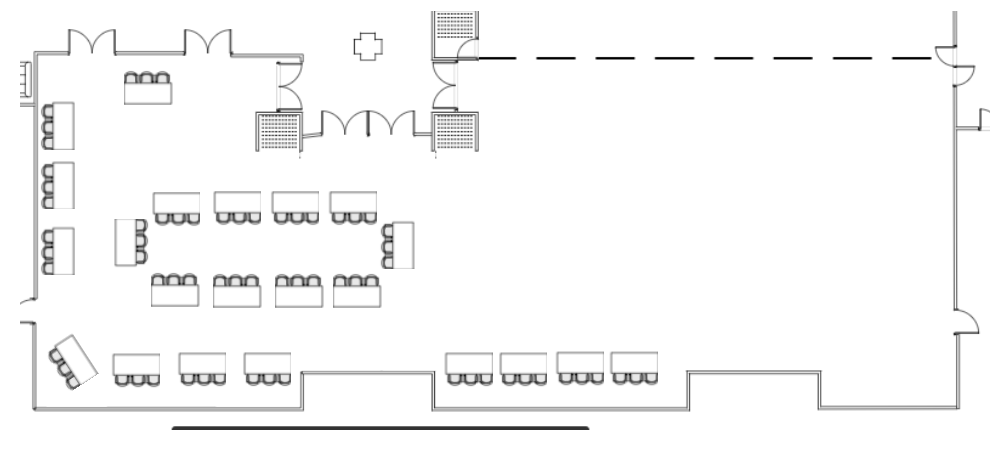 2021 U.S. Fintech Symposium Exhibit Hall Floor Plan